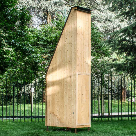 "Francesco Faccin creates ""micro architecture"" for bees with Honey Factory"