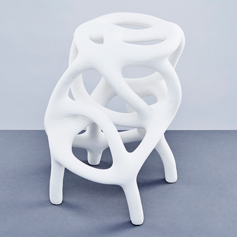 Studio Ilio uses electricity to form solid objects from wire and waste 3D-printing powder