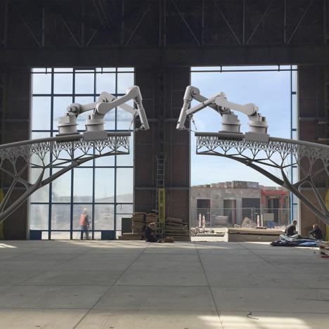 Joris Laarman 3D printed bridge