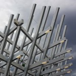 J Mayer H completes timber lattice pavilion to mark the 300th year of the city of Karlsruhe
