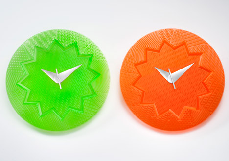 Crystal Palace wall clocks for Kartell