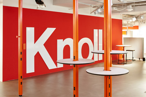 Knoll showroom NeoCon