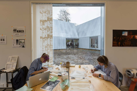 Krabbesholm, Art / Architecture / Design School by Mos Architects