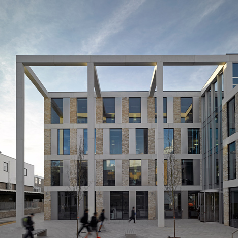 Lancaster University Engineering Building by John McAslan and Partners