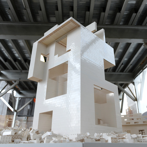 OMA, Renzo Piano, BIG and Steven Holl build Lego structures for Olafur Eliasson installation