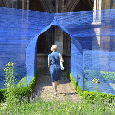 Les Voûtes Filantes installation in Cahors-France by Atelier YokYok