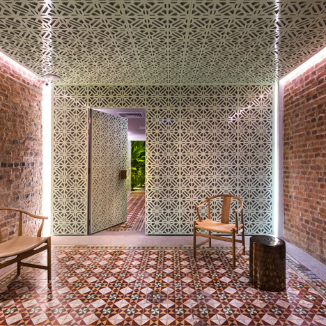 Ministry of Design transforms five Malaysian shophouses into a boutique hotel