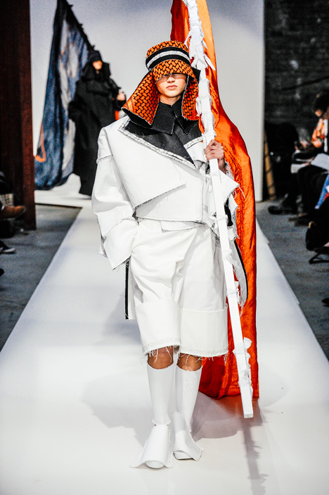 London College of Fashion BA 2015 Kenji Lau Angela Domale