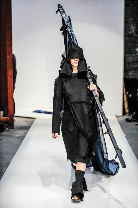 London College of Fashion BA 2015 Kenji Lau Angela Domale