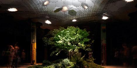 Lowline underground park in New York