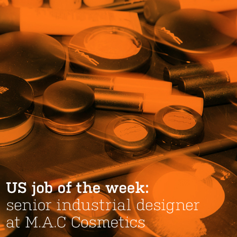 US job of the week: senior industrial designer at M.A.C Cosmetics