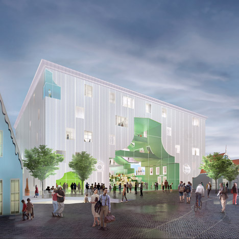 MVRDV's Zaanstad Cultural Cluster will house five Dutch institutions in one building
