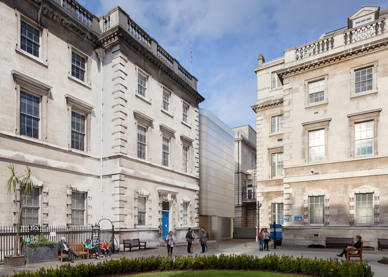 Maggie's Centre Barts in London by Steven Holl Architects