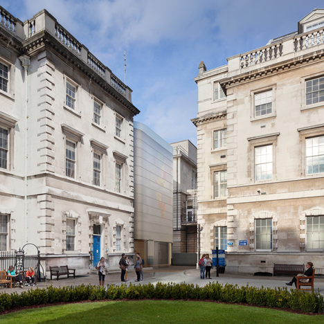 Construction starts on Steven Holl-designed Maggie's Centre at London's oldest hospital