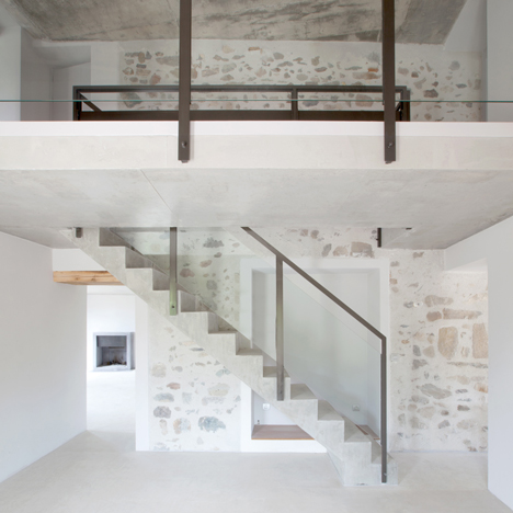 FRAR transforms a dilapidated French house and barn into a holiday home