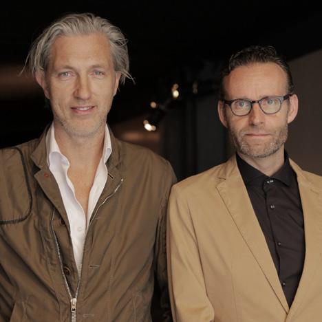 Marcel Wanders and Casper Vissers portrait