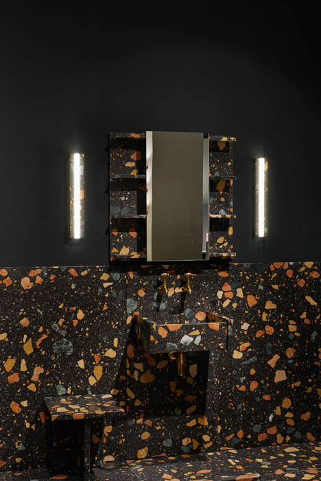Max Lamb bathroom at Design/Miami Basel 2015