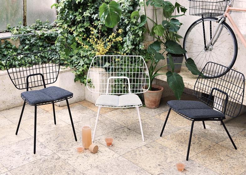 Menu chair by WM