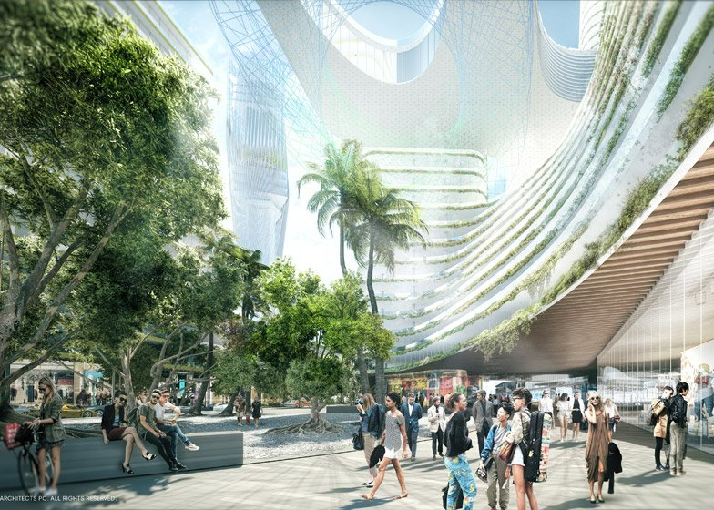 Miami Innovation District by SHoP Architects