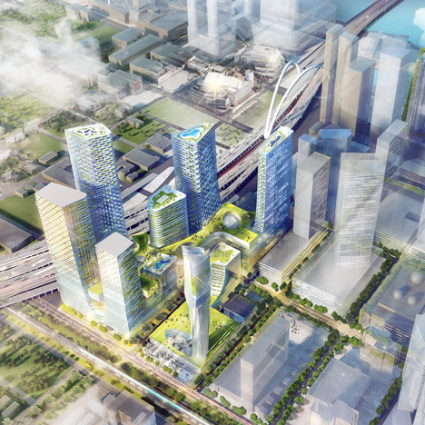 SHoP Architects and West 8 design new tech district for Miami