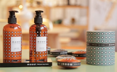 Moooi's range of bath and shower products for hotels