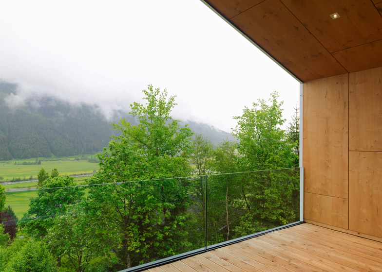 Green project house in austria