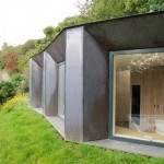 Copper-clad studio by Stonewood Design is also a hide for wildlife watching