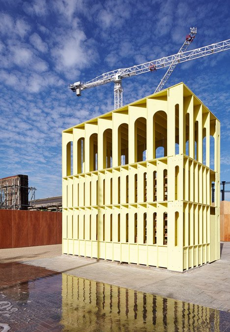 New-Horizons-LFA-Red-Yellow-Pavilion-Hall-McKnight_TAKA-Clancy-Moore-Steve-Larkin_dezeen_468_10