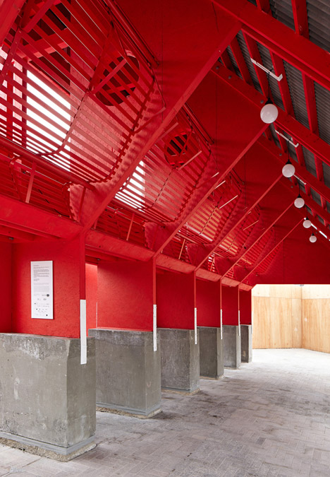 New-Horizons-LFA-Red-Yellow-Pavilion-Hall-McKnight_TAKA-Clancy-Moore-Steve-Larkin_dezeen_468_15