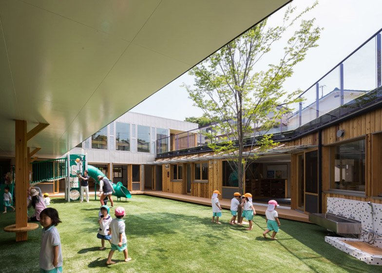 Nursery by Tadashi Suga Architects