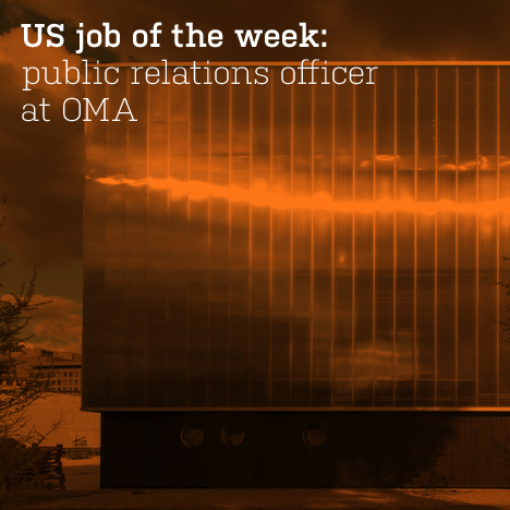 US job of the week: public relations officer at OMA