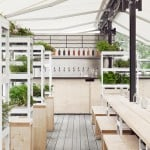 Form Us With Love creates waterfront beer garden for a Stockholm museum