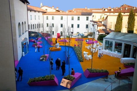 Palma de Vecchio Pop up Square by Studio Fink