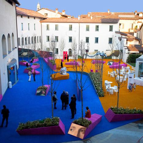 Palma de Vecchio Pop up Square by Studio Fink