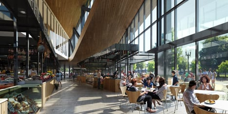 Portland's new James Beard Public Market by Snøhetta