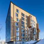 OOPEAA completes Finland's first high-rise wooden apartment building
