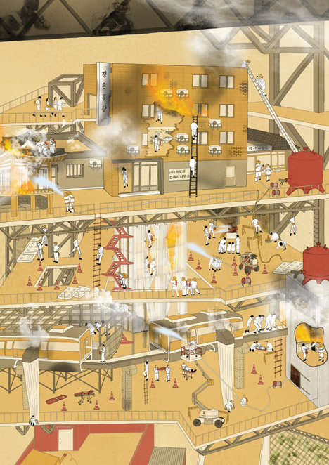 Risk Theme Park by Soon-min Hong