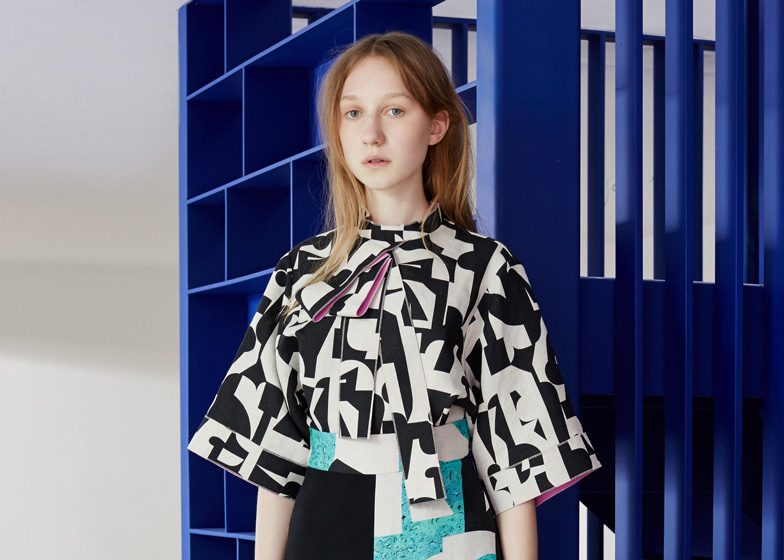 Roksanda Resort 2016 Collection Patterned With Cubist Shapes
