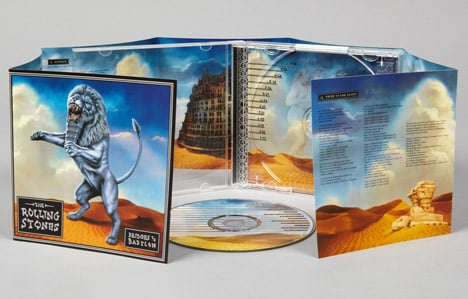 CD cover for Bridges to Babylon by The Rolling Stones