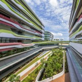 UNStudio completes first buildings for new Singapore university campus