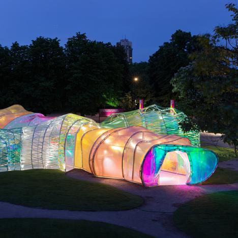 SelgasCano's Serpentine Gallery Pavilion by Iwan Baan