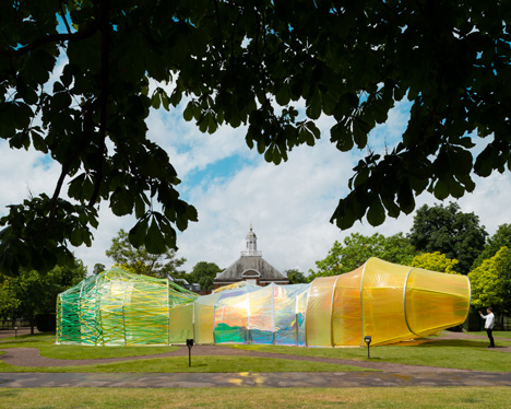 Serpentine Gallery Pavilion by SelgasCano