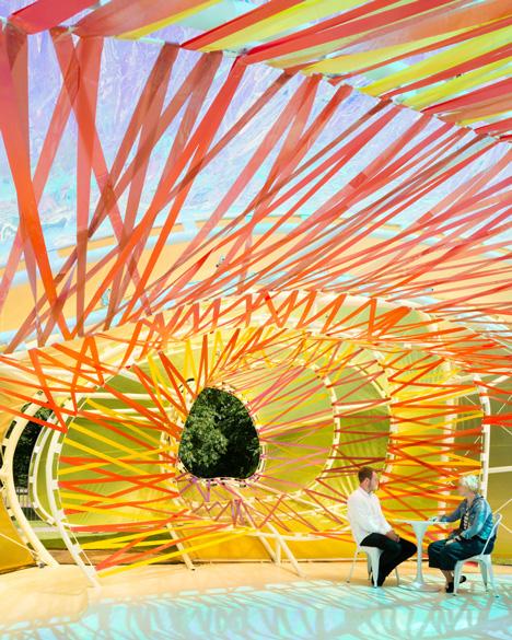 Serpentine Gallery Pavilion by SelgasCano