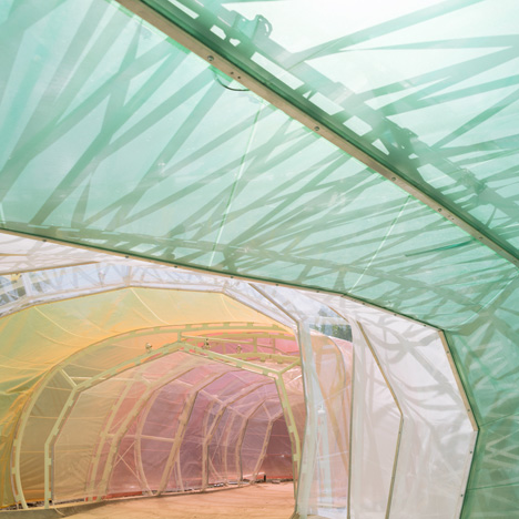 Exclusive video preview of SelgasCano's 2015 Serpentine Gallery Pavilion