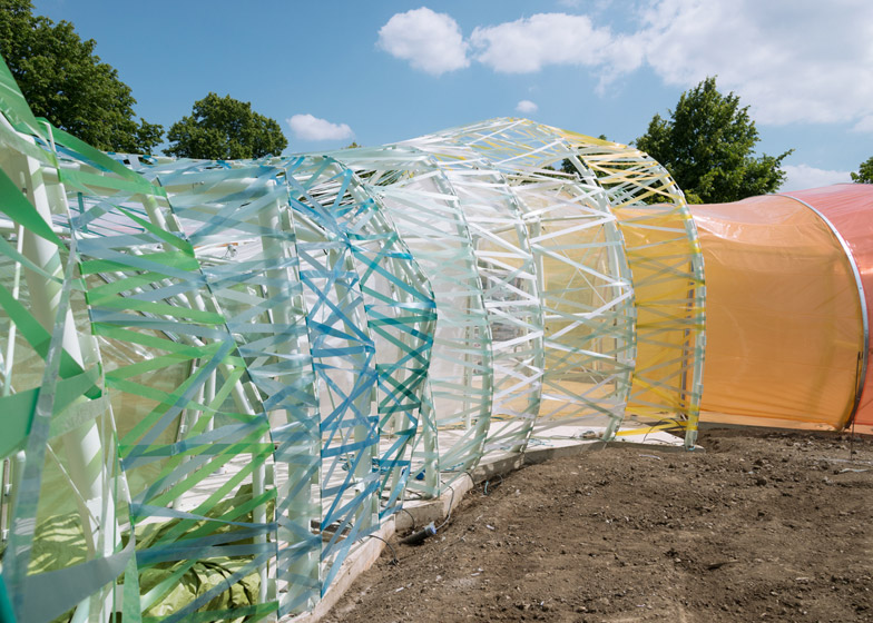 Serpentine Gallery Pavilion by Selgas Cano