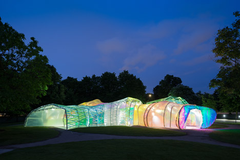 Serpentine Pavilion designed by SelgasCano 2015