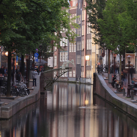Joris Laarman plans to 3D-print a canal bridge