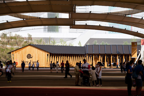Slow Food Pavilion by Herzog & de Meuron at Milan Expo 2015