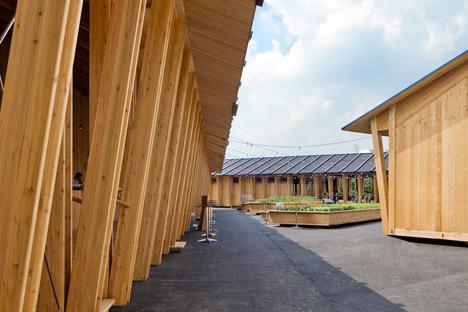 Slow Food Pavilion by Herzog & de Meuron at Milan Expo 2015
