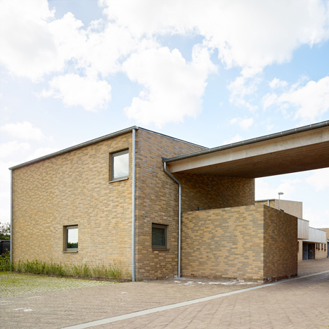 Volt Architecten's Belgian housing scheme is designed to look like a farmstead